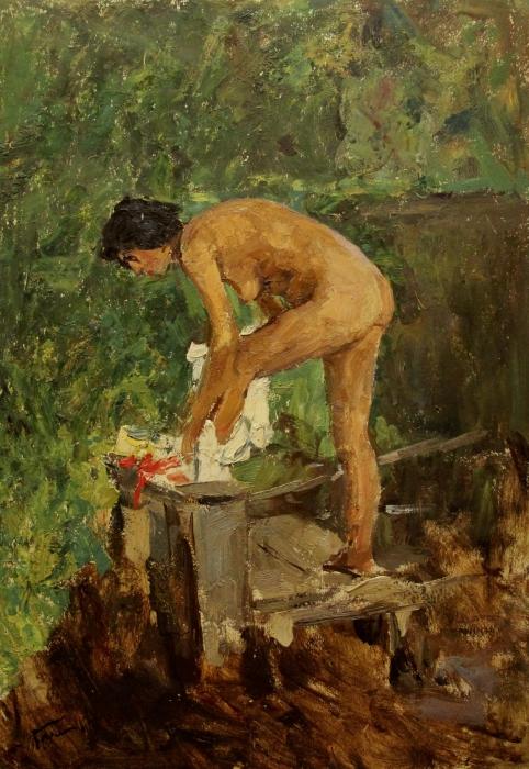 Обнаженные картины художников