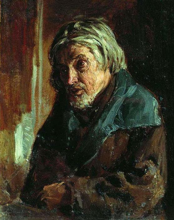 «Старик-крестьянин» Холст, масло. Полтавский областной художественный музей