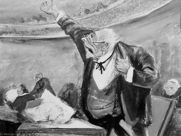 Уильям Гроппер. На заседании Конгресса.