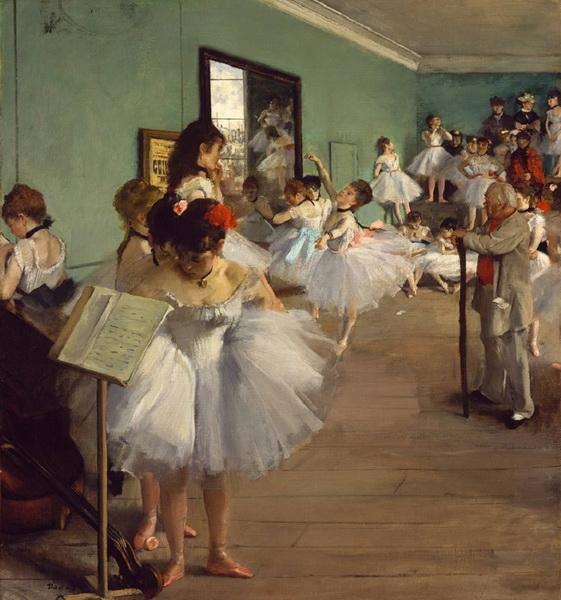 Эдгар Дега  «Танцевальный класс» 1874 г.