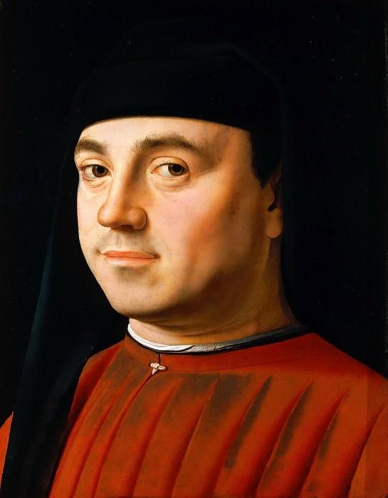 Антонелло да Мессина  «Мужской портрет» 1474-76 гг. 31x26 см