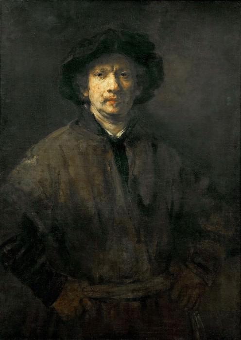 Рембрандт «Большой автопортрет» Холст, масло. 112х81,5 см. (Из собрания музея истории искусств, Вена, Австрия)