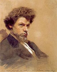 Портрет В. М. Максимова (1878, И. В. Крамской)