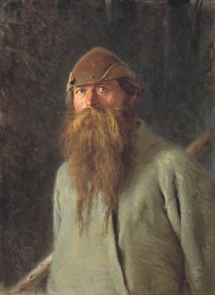 Иван Николаевич Крамской «Полесовщик» 1874 г. Государственная Третьяковская галерея