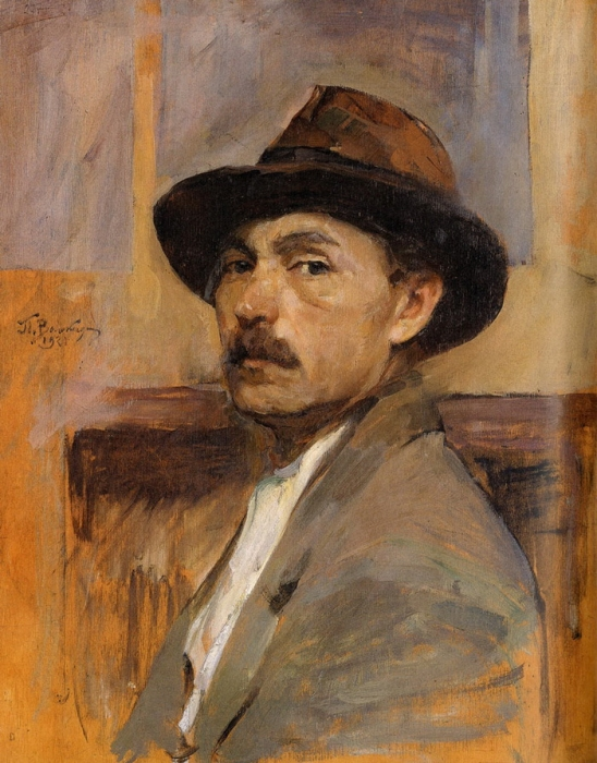 П.Г. Волокидин. Автопортрет.
