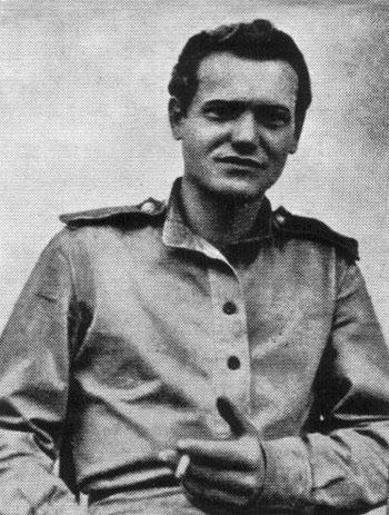 Евсей Моисеенко в кавалерийском корпусе