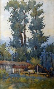 Атанас Михов. Пейзаж.