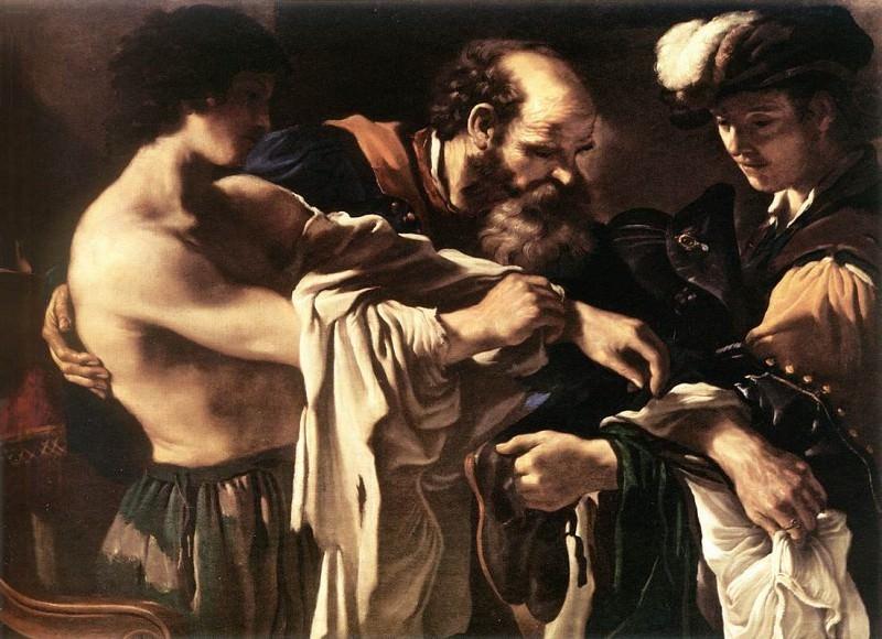 Гверчино «Возвращение блудного сына»  Холст, масло. 107X143 см. (Из собрания музея истории искусств, Вена, Австрия)