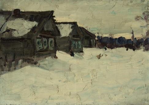 В.Г. Гремитских «Деревня Кишарино»