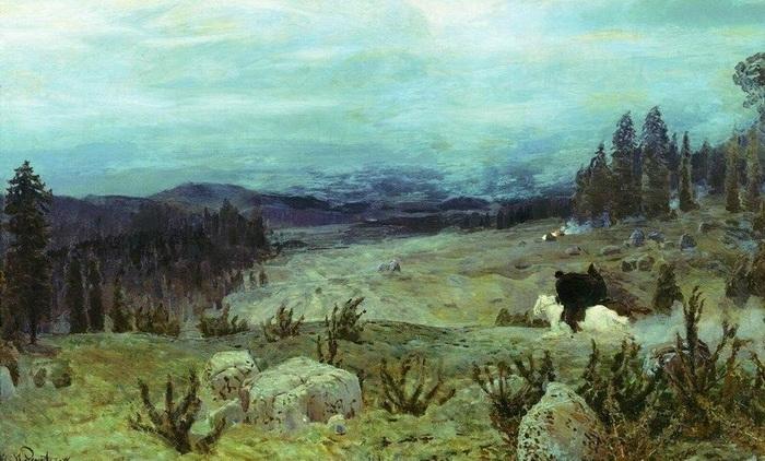 Апполинарий Васнецов  Сибирь. 1894 г.