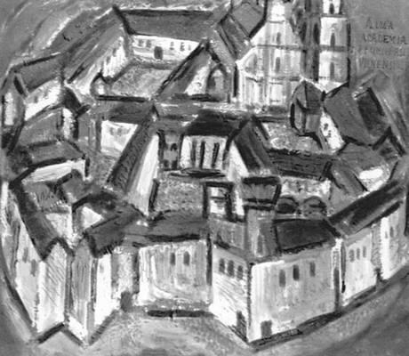 Алоизас Стасюлявичюс. Вильнюсский Университет. 1966 г.