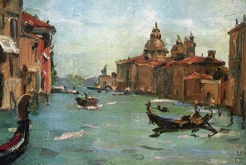А.И. Плотнов   «Венеция»   1956 год
