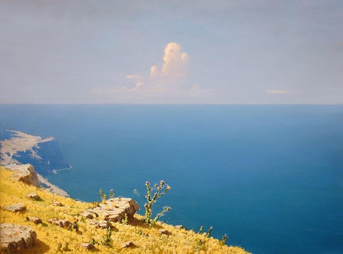 Архип Иванович Куинджи «Море. Крым» (1898—1908) Холст, масло.