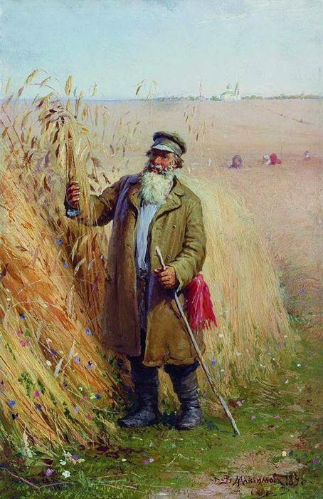 «После обедни» 1891 г. Холст, масло. Омский областной музей изобразительных искусств им. М.А.Врубеля