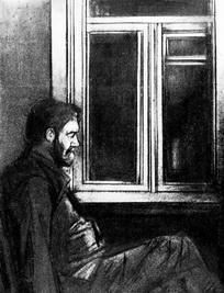 Иллюстрация к рассказу А.П. Чехова «Палата №6»