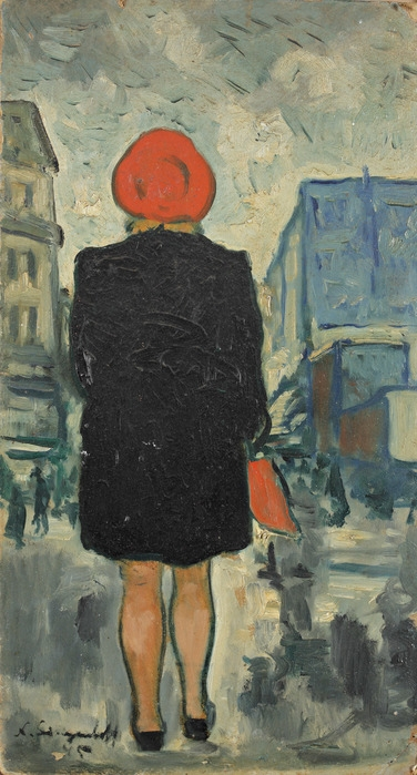 Н. Синезубов «Woman from the back» (Женщина со спины) 1939 г.