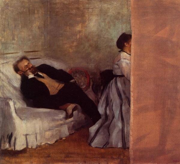 «Портрет Эдуарда Мане с женой»  1868 г.