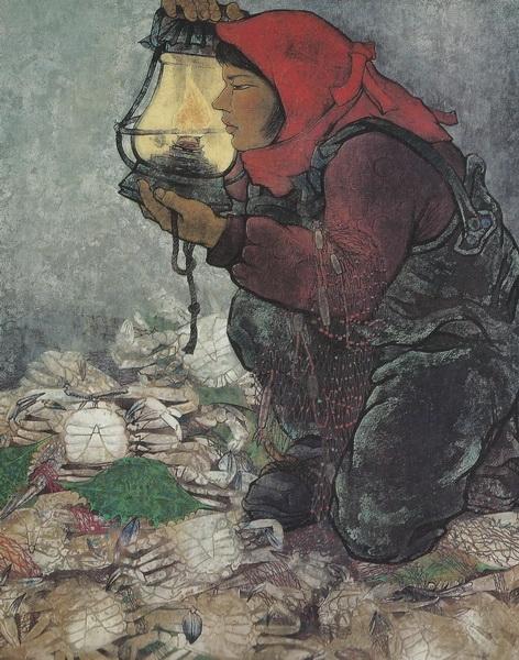 Кодзи Мацумура  «Цугару» картина 160,5х128,6   1975 г.