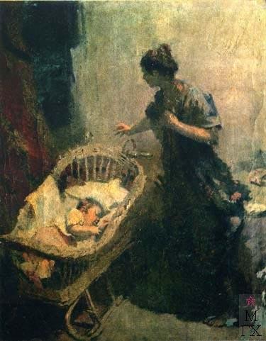 Н.Н. Горлов «Мать» Холст, масло. 125х100 см 1957 г.