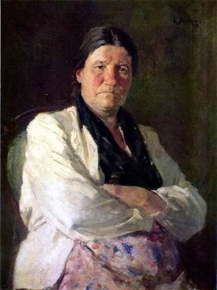Максимов К.М. «Портрет матери» 1949 г.
