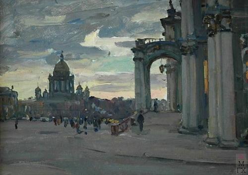А.И. Плотнов   «Зимний дворец»   1978 год