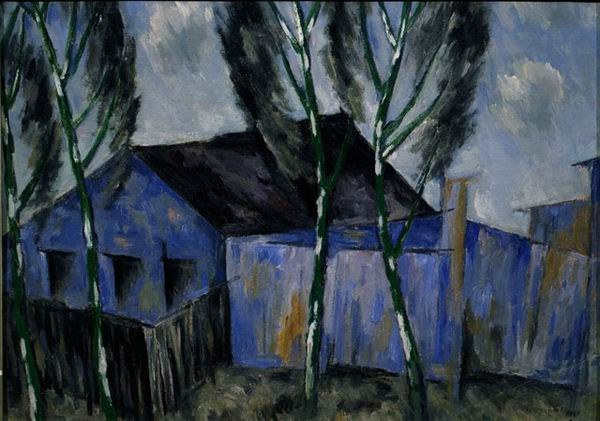 Н.М. ЧЕРНЫШЁВ  «Голубой домик»  1930-е годы