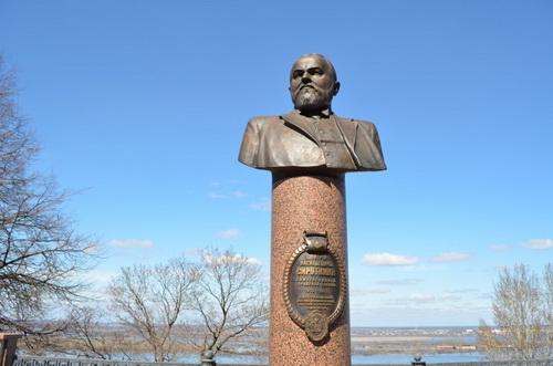 Памятник Дмитрию Васильевичу Сироткину в Нижнем Новгороде