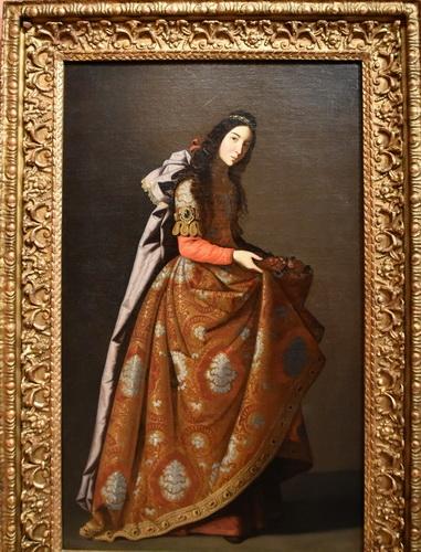 Франсиско де Сурбаран  «Святая Касильда»  Около 1635 г.
