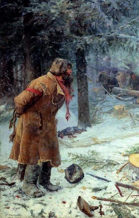 «Лесной сторож» 1893 г. Холст, масло. Одесский художественный музей