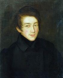 Николай Аргунов. Автопортрет.