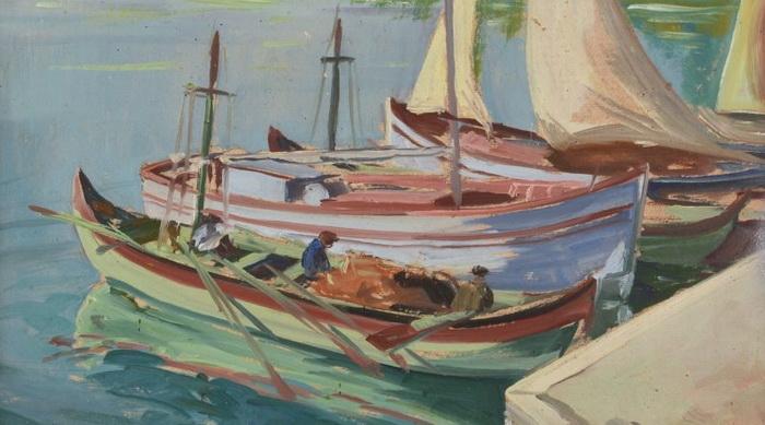 Атанас Михов. Лодки.