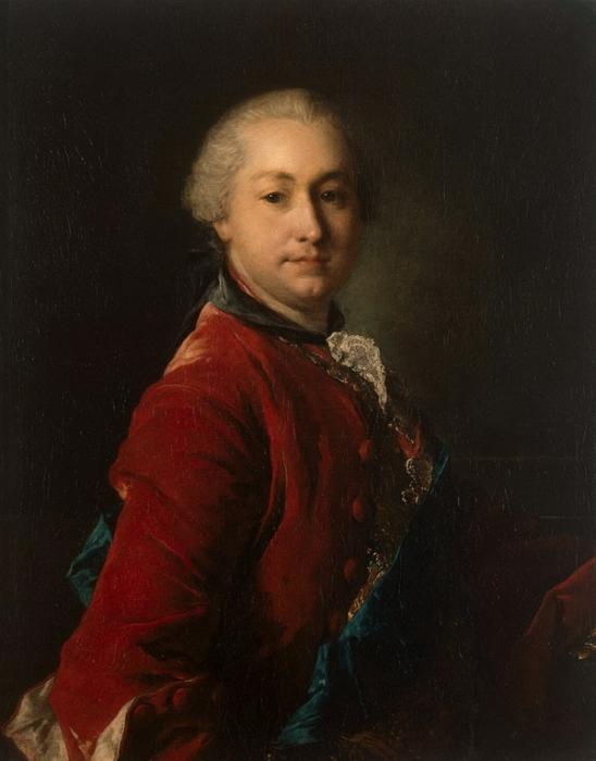 Луи Токке. Граф Иван Иванович Шувалов. 1750-е гг. Государственный Эрмитаж.