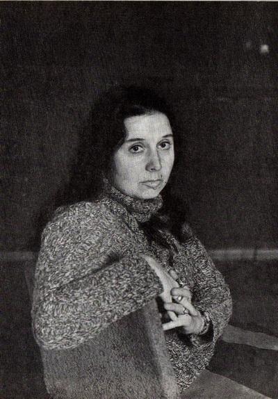 Евгения Тавьева «Окрестности Батуми» 1982 г. Холст, масло. 46х76 см