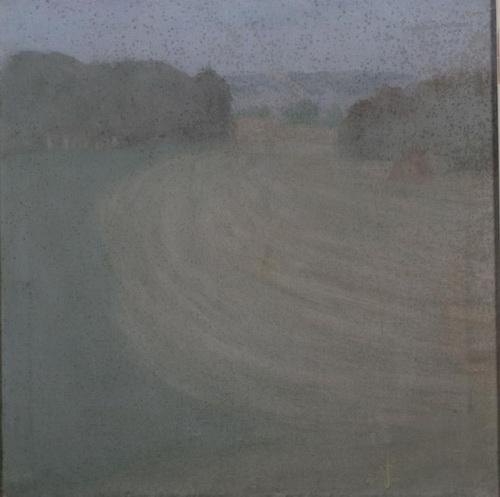 Соколов А. Д.  «Осенний пейзаж» Холст, масло. 1983 г. Пермская художественная галерея.