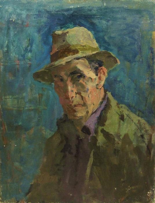 Давид Рубинштейн  'Автопротрет' 1947 год