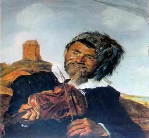 Франс Хальс «Рыбак, играющий на скрипке» Холст, масло.