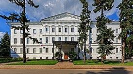 Дом военного губернатора в Нижегородском кремле — одно из зданий Нижегородского государственного художественного музея
