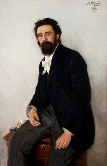 Владимир Маковский «Портрет Сергея Коровина» 1892 г. Национальный музей в Варшаве