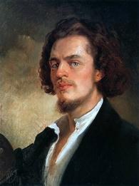 Константин Маковский. Автопортрет, 1856 г.