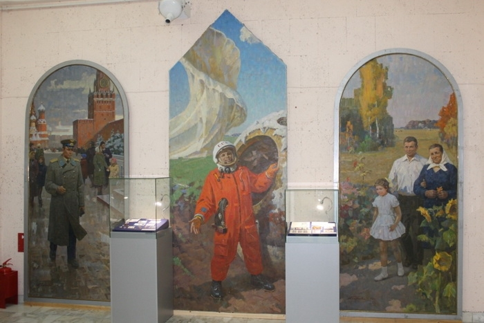 Триптих А.И. Плотнова в Музее города Северска Томской области