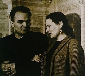 Василий Кириллович Нечитайло и Мария Владимировна Савченкова