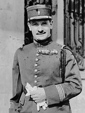 Французский генерал Зиновий Пешков