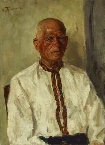 В.Г. Гремитских «Дед Опанас» холст, масло; 70х50; 1966 год