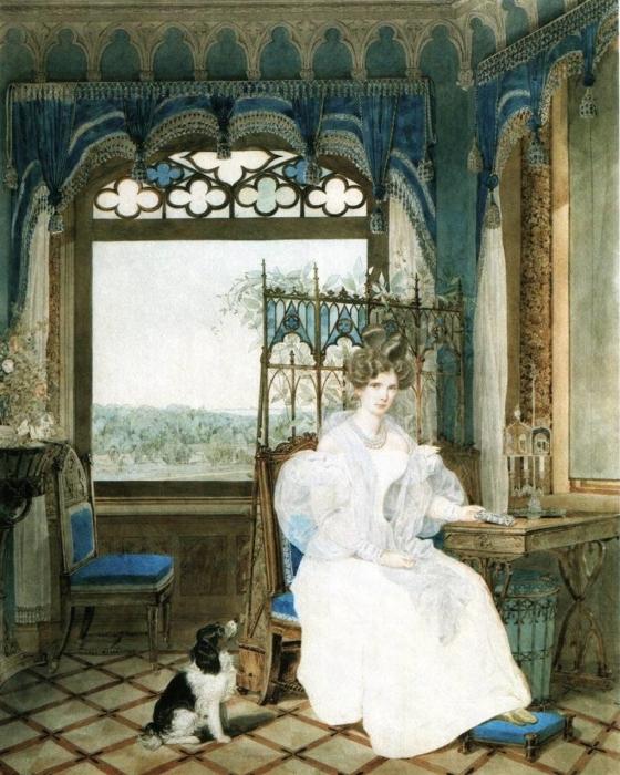 «Императрица Александра Фёдоровна» 1830 г. Александр Павлович Брюллов