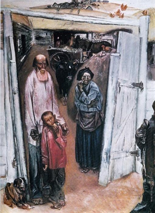 Е. Моисеенко Цикл «Из детства»