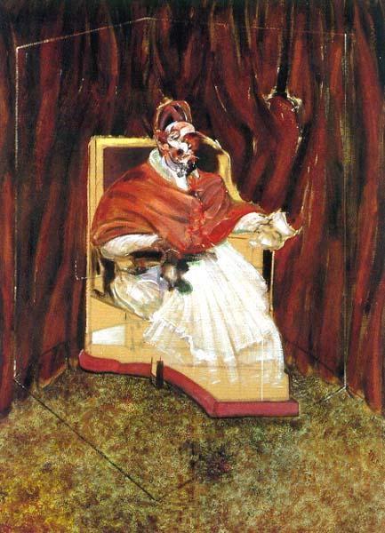 Френсис Бэкон «Этюд к портрету папы Иннокентия X»