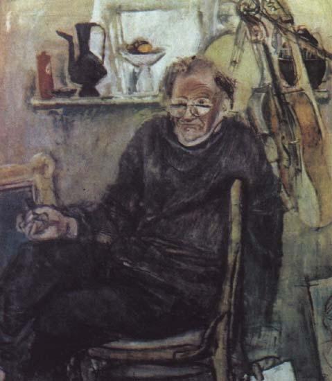 Е. Моисеенко «Автопортрет»  1979 г.