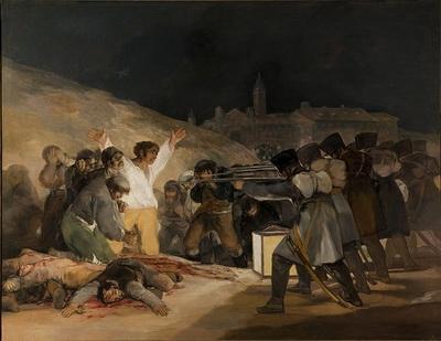 Франсиско Гойя «Расстрел повстанцев в ночь на 3 мая 1808 года»