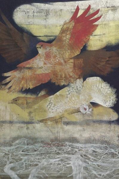 Тосио Мацуо  «Взмах крыльев» картина144х96 1971 г.