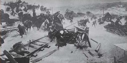 Фрагмент диорамы «Взятие Ростова»